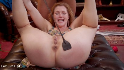 Photo number 5 from Mommy's Girl: Anal Slut Didn't Save Enough Pussy For Step-Mommy shot for  on Kink.com. Featuring Cherie DeVille, Ella Nova  and Derrick Pierce in hardcore BDSM & Fetish porn.