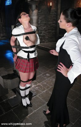 Photo number 3 from Penny Immobilized shot for Whipped Ass on Kink.com. Featuring Nikki Nievez and Penny Barber in hardcore BDSM & Fetish porn.