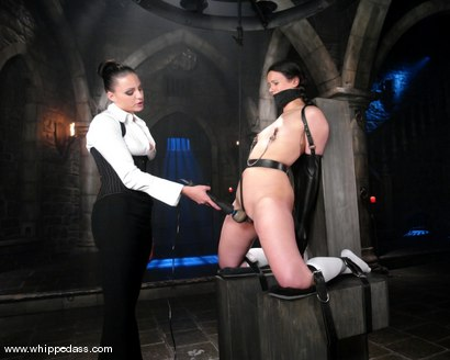 Photo number 5 from Penny Immobilized shot for Whipped Ass on Kink.com. Featuring Nikki Nievez and Penny Barber in hardcore BDSM & Fetish porn.