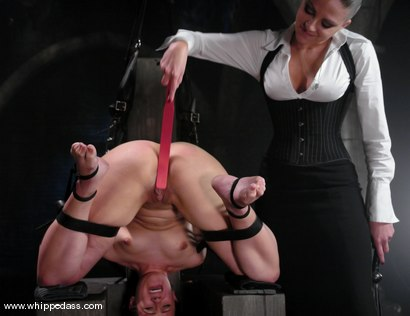 Photo number 8 from Penny Immobilized shot for Whipped Ass on Kink.com. Featuring Nikki Nievez and Penny Barber in hardcore BDSM & Fetish porn.