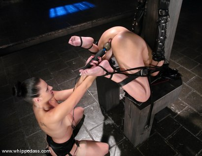 Photo number 10 from Penny Immobilized shot for Whipped Ass on Kink.com. Featuring Nikki Nievez and Penny Barber in hardcore BDSM & Fetish porn.