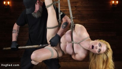Penny Pax: Blue-Eyed Redhead Damsel Tormented in Strict Bondage