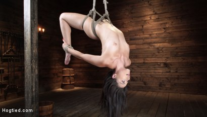 Photo number 11 from Avi Love: Young, Sexy Rope Slut Tormented and Made to Cum in Bondage shot for Hogtied on Kink.com. Featuring Avi Love in hardcore BDSM & Fetish porn.