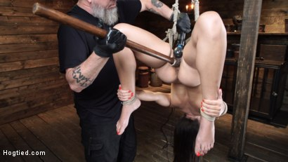 Photo number 15 from Avi Love: Young, Sexy Rope Slut Tormented and Made to Cum in Bondage shot for Hogtied on Kink.com. Featuring Avi Love in hardcore BDSM & Fetish porn.