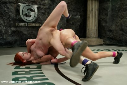 Photo number 3 from SUMMER VENGEANCE<BR>The Gymnast(4-5) Ranked 7th<br>The Kitten(0-1) Ranked 13th shot for Ultimate Surrender on Kink.com. Featuring Wenona and Calico in hardcore BDSM & Fetish porn.