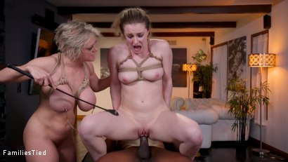 Photo number 32 from Ghosted: Slutty MILF & Step-Daughter Destroyed by Sadistic Sidepiece shot for  on Kink.com. Featuring Kate Kennedy, Dee Williams and Rob Piper in hardcore BDSM & Fetish porn.
