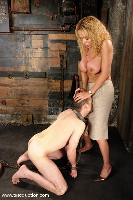 Photo number 7 from Gia Darling, Steven Sweat shot for TS Seduction on Kink.com. Featuring Gia Darling and Steven Sweat in hardcore BDSM & Fetish porn.