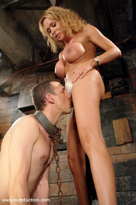 Photo number 10 from Gia Darling, Steven Sweat shot for TS Seduction on Kink.com. Featuring Gia Darling and Steven Sweat in hardcore BDSM & Fetish porn.
