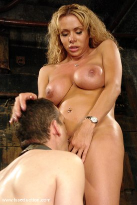 Photo number 11 from Gia Darling, Steven Sweat shot for TS Seduction on Kink.com. Featuring Gia Darling and Steven Sweat in hardcore BDSM & Fetish porn.