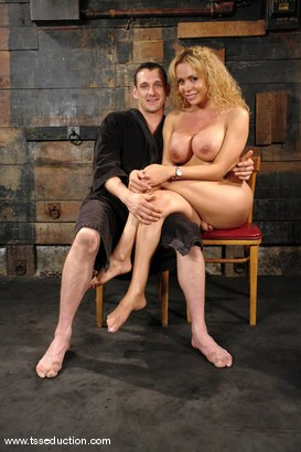 Photo number 15 from Gia Darling, Steven Sweat shot for TS Seduction on Kink.com. Featuring Gia Darling and Steven Sweat in hardcore BDSM & Fetish porn.
