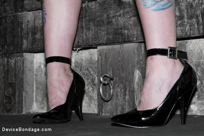 Photo number 2 from CLASSIC SHOOT WITH CYD BLACK, SARAH JANE CEYLON, AND CLAIRE ADAMS! shot for Device Bondage on Kink.com. Featuring Sarah Jane Ceylon and Claire Adams in hardcore BDSM & Fetish porn.