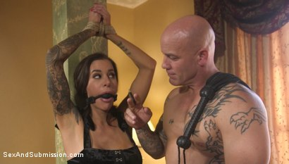 Photo number 9 from The Client List: Submissive Gia DiMarco Returns for More Punishment shot for Sex And Submission on Kink.com. Featuring Derrick Pierce and Gia DiMarco in hardcore BDSM & Fetish porn.