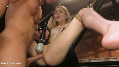 Photo number 11 from Mackenzie Moss: A Hunger For Pain and Dick shot for Brutal Sessions on Kink.com. Featuring Seth Gamble and Mackenzie Moss in hardcore BDSM & Fetish porn.