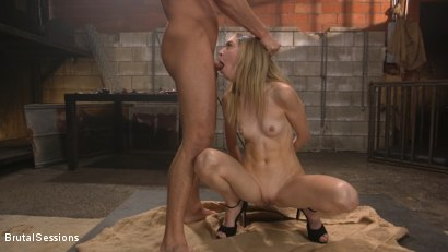 Photo number 14 from Mackenzie Moss: A Hunger For Pain and Dick shot for Brutal Sessions on Kink.com. Featuring Seth Gamble and Mackenzie Moss in hardcore BDSM & Fetish porn.