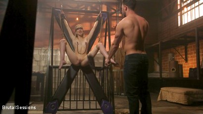 Photo number 2 from Mackenzie Moss: A Hunger For Pain and Dick shot for Brutal Sessions on Kink.com. Featuring Seth Gamble and Mackenzie Moss in hardcore BDSM & Fetish porn.