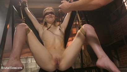 Photo number 3 from Mackenzie Moss: A Hunger For Pain and Dick shot for Brutal Sessions on Kink.com. Featuring Seth Gamble and Mackenzie Moss in hardcore BDSM & Fetish porn.