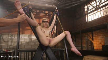 Photo number 5 from Mackenzie Moss: A Hunger For Pain and Dick shot for Brutal Sessions on Kink.com. Featuring Seth Gamble and Mackenzie Moss in hardcore BDSM & Fetish porn.
