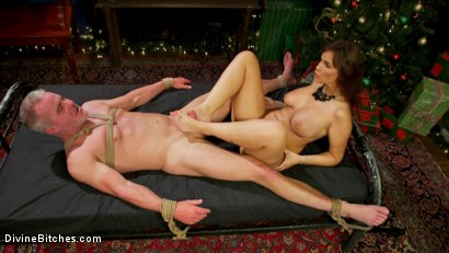 Photo number 12 from Santa Gets Got: MILF Syren de Mer Catches Dale Savage in Her Dungeon shot for Divine Bitches on Kink.com. Featuring Syren de Mer and Dale Savage in hardcore BDSM & Fetish porn.