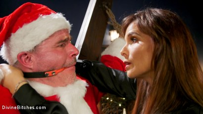 Photo number 1 from Santa Gets Got: MILF Syren de Mer Catches Dale Savage in Her Dungeon shot for Divine Bitches on Kink.com. Featuring Syren de Mer and Dale Savage in hardcore BDSM & Fetish porn.