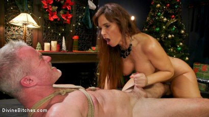 Photo number 19 from Santa Gets Got: MILF Syren de Mer Catches Dale Savage in Her Dungeon shot for Divine Bitches on Kink.com. Featuring Syren de Mer and Dale Savage in hardcore BDSM & Fetish porn.