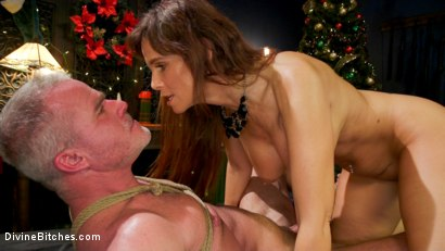 Photo number 20 from Santa Gets Got: MILF Syren de Mer Catches Dale Savage in Her Dungeon shot for Divine Bitches on Kink.com. Featuring Syren de Mer and Dale Savage in hardcore BDSM & Fetish porn.