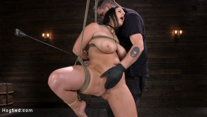 Photo number 3 from Angela White: Complete Submission to The Pope shot for Hogtied on Kink.com. Featuring Angela White in hardcore BDSM & Fetish porn.