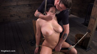 Photo number 31 from Angela White: Complete Submission to The Pope shot for Hogtied on Kink.com. Featuring Angela White in hardcore BDSM & Fetish porn.