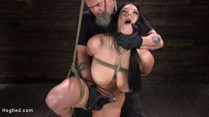 Photo number 7 from Angela White: Complete Submission to The Pope shot for Hogtied on Kink.com. Featuring Angela White in hardcore BDSM & Fetish porn.
