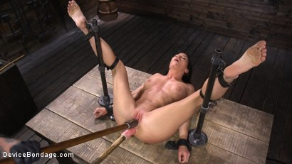 Photo number 22 from Ariel X: Body Builder Double Penetrated in Diabolical Devices shot for Device Bondage on Kink.com. Featuring Ariel X in hardcore BDSM & Fetish porn.