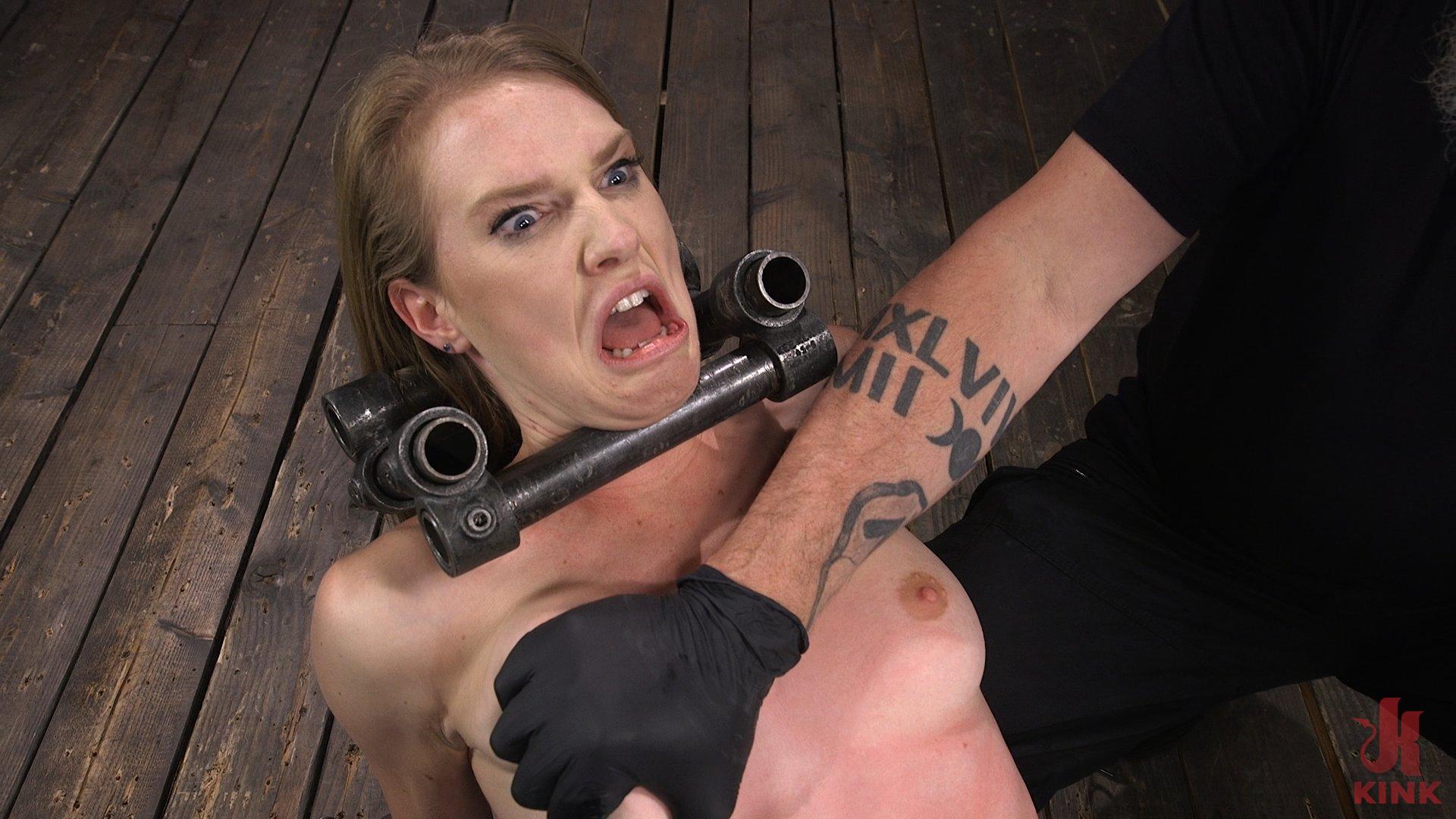 Photo number 7 from Ashley Lane: Pain Slut Brutally Tormented in Device Bondage shot for Device Bondage on Kink.com. Featuring Ashley Lane in hardcore BDSM & Fetish porn.