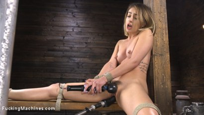 Photo number 16 from Kristen Scott: Bound and Machine Fucked Into Nonstop Orgasms shot for Fucking Machines on Kink.com. Featuring Kristen Scott in hardcore BDSM & Fetish porn.