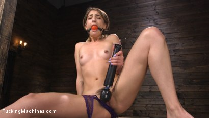 Photo number 3 from Kristen Scott: Bound and Machine Fucked Into Nonstop Orgasms shot for Fucking Machines on Kink.com. Featuring Kristen Scott in hardcore BDSM & Fetish porn.