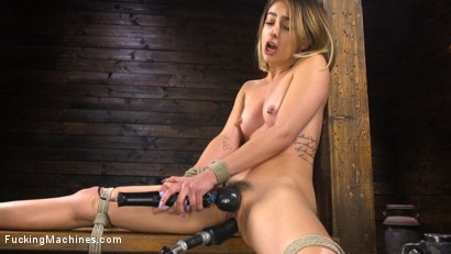 Kristen Scott: Bound and Machine Fucked Into Nonstop Orgasms