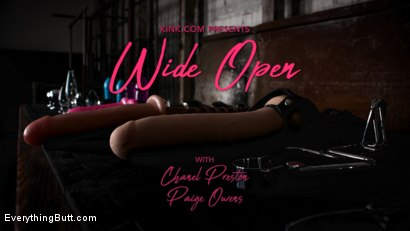 Photo number 1 from Wide Open: Chanel Preston Stretches Out Paige Owens' Permagape Asshole shot for Everything Butt on Kink.com. Featuring Chanel Preston and Paige Owens in hardcore BDSM & Fetish porn.
