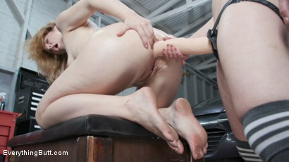 Photo number 20 from Rear Ended: Ella Nova Gets Her Ass Stretched By Casey Calvert   shot for Everything Butt on Kink.com. Featuring Casey Calvert  and Ella Nova in hardcore BDSM & Fetish porn.