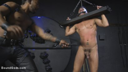 Photo number 9 from Cesar Xes is Ace Rockwood's Perfect Little Bitch Boy shot for Bound Gods on Kink.com. Featuring Ace Rockwood and Cesar Xes in hardcore BDSM & Fetish porn.