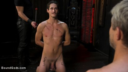 Photo number 13 from Face Your Fears: Tony Orlando and Sherman Maus Confront Their Torment shot for Bound Gods on Kink.com. Featuring Sebastian Keys, Sherman Maus and Tony Orlando in hardcore BDSM & Fetish porn.