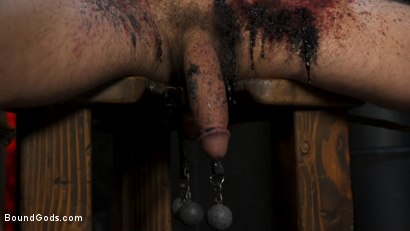 Photo number 17 from Face Your Fears: Tony Orlando and Sherman Maus Confront Their Torment shot for Bound Gods on Kink.com. Featuring Sebastian Keys, Sherman Maus and Tony Orlando in hardcore BDSM & Fetish porn.
