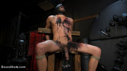 Photo number 19 from Face Your Fears: Tony Orlando and Sherman Maus Confront Their Torment shot for Bound Gods on Kink.com. Featuring Sebastian Keys, Sherman Maus and Tony Orlando in hardcore BDSM & Fetish porn.