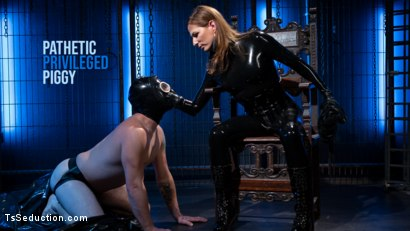 Pathetic Privileged Piggy: Sebastian Keys Dominated by Jamie French