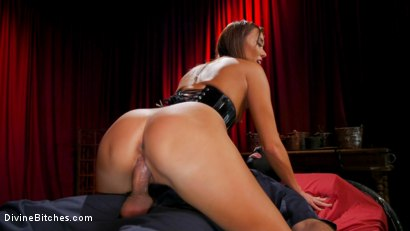 Photo number 19 from Christy Love Dominates The Gimp and Fucks Him in the Ass shot for Divine Bitches on Kink.com. Featuring Christy Love  and Papa Georgio in hardcore BDSM & Fetish porn.
