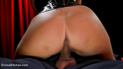 Photo number 20 from Christy Love Dominates The Gimp and Fucks Him in the Ass shot for Divine Bitches on Kink.com. Featuring Christy Love  and Papa Georgio in hardcore BDSM & Fetish porn.