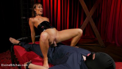 Photo number 21 from Christy Love Dominates The Gimp and Fucks Him in the Ass shot for Divine Bitches on Kink.com. Featuring Christy Love  and Papa Georgio in hardcore BDSM & Fetish porn.