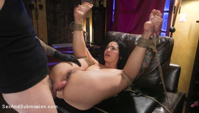 Photo number 26 from Anal Resolution: Tommy Pistol and Katrina Jade's New Year's Fuck shot for Sex And Submission on Kink.com. Featuring Tommy Pistol and Katrina Jade in hardcore BDSM & Fetish porn.