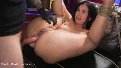 Photo number 28 from Anal Resolution: Tommy Pistol and Katrina Jade's New Year's Fuck shot for Sex And Submission on Kink.com. Featuring Tommy Pistol and Katrina Jade in hardcore BDSM & Fetish porn.