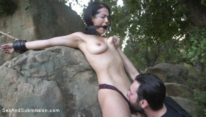 Photo number 5 from Anal Resolution: Tommy Pistol and Katrina Jade's New Year's Fuck shot for Sex And Submission on Kink.com. Featuring Tommy Pistol and Katrina Jade in hardcore BDSM & Fetish porn.