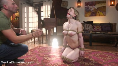 Photo number 6 from Kept Secrets: Kate Kennedy and Stirling Cooper's Dark Fantasies shot for Sex And Submission on Kink.com. Featuring Stirling Cooper  and Kate Kennedy in hardcore BDSM & Fetish porn.