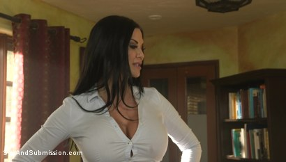 Photo number 1 from XXX-Mas Bonus: Jasmine Jae Lets Seth Gamble Dominate Her For X-Mas shot for Sex And Submission on Kink.com. Featuring Jasmine Jae and Seth Gamble in hardcore BDSM & Fetish porn.