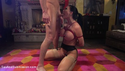 Photo number 15 from XXX-Mas Bonus: Jasmine Jae Lets Seth Gamble Dominate Her For X-Mas shot for Sex And Submission on Kink.com. Featuring Jasmine Jae and Seth Gamble in hardcore BDSM & Fetish porn.