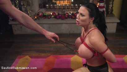 Photo number 17 from XXX-Mas Bonus: Jasmine Jae Lets Seth Gamble Dominate Her For X-Mas shot for Sex And Submission on Kink.com. Featuring Jasmine Jae and Seth Gamble in hardcore BDSM & Fetish porn.